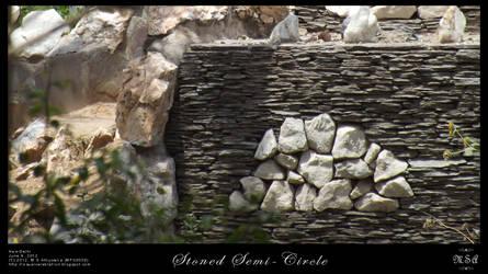 Stoned Semi-Circle by msahluwalia