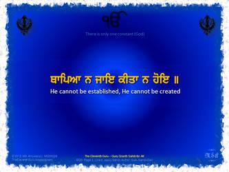 The Eleventh Guru MG00028 :: Japuji Sahib by msahluwalia
