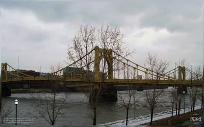 MP00013 :: Sixth street bridge - Allegheny by msahluwalia