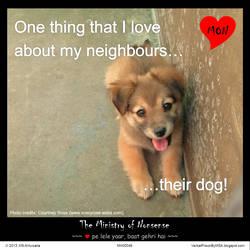 Neighbour's dog meme :: The Ministry of Nonsense