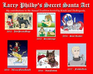 Secret Santa Collage by GiantToby