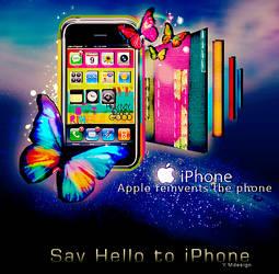 iPhone advert
