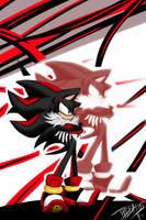 Shadow The Hedgehog by splushmaster12