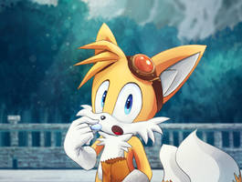 Tails by splushmaster12