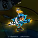 Jack Tennis Shoes - Pelican Cartoon Logo
