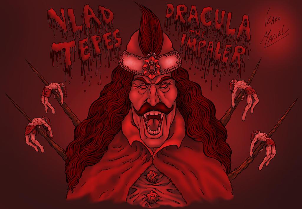 Dracula _ Vlad Tepes, the Impaler by elchavoman ...