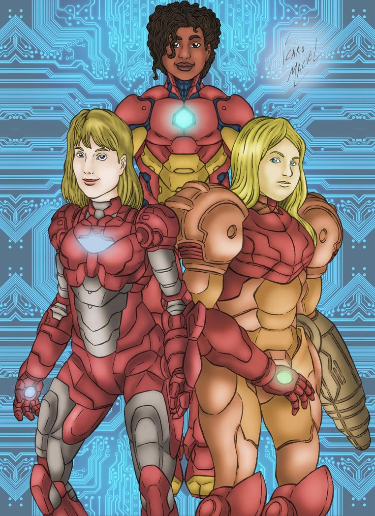 Women In Armor by elchavoman