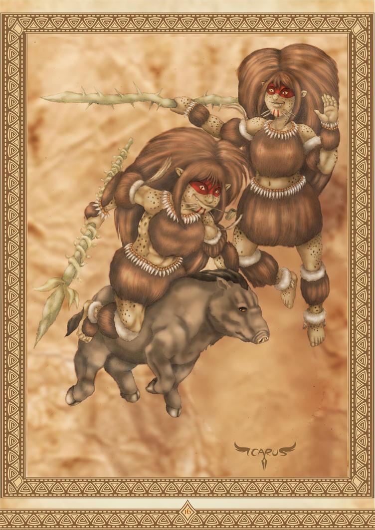 Caipora - Bestiario do Folclore Nacional by elchavoman