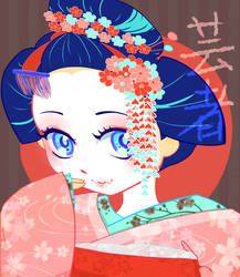 Geisha by IceRosePhoenix