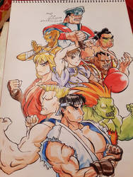 Street Fighter by Laviolenta
