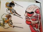 attake on titans by Laviolenta