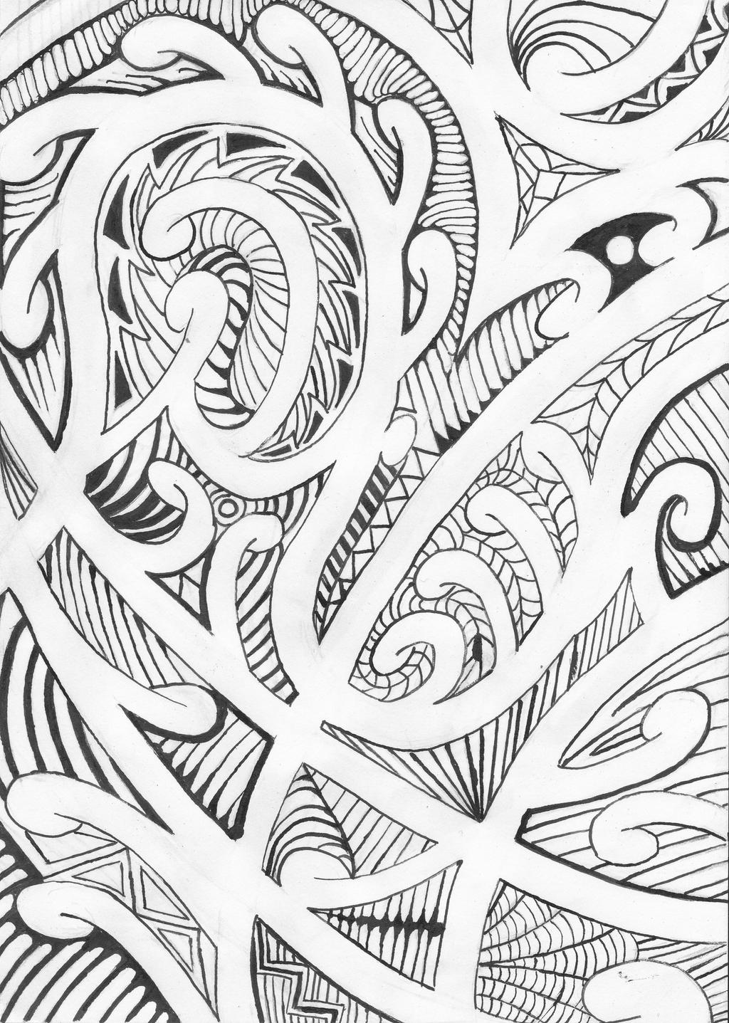 Traditional Maori Art: Maori Design By Victorverhart On DeviantArt