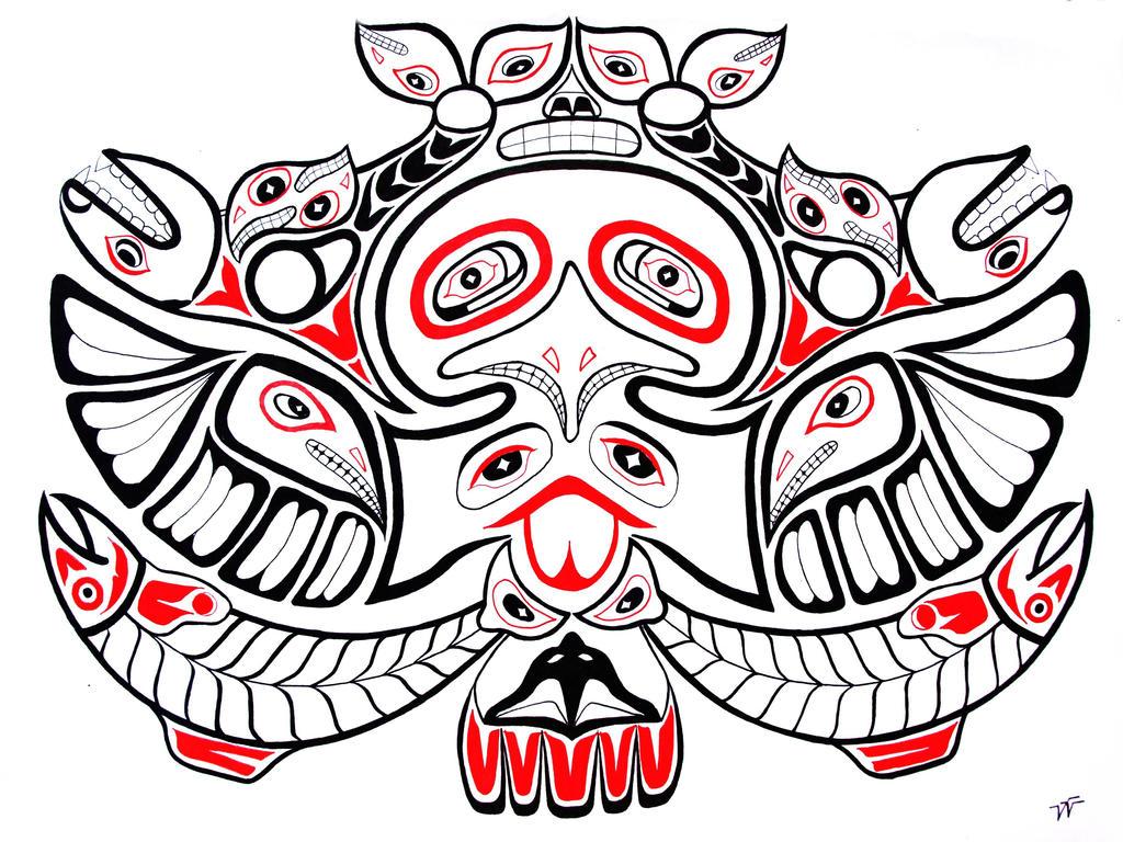 Haida Totem By Victorverhart On DeviantArt