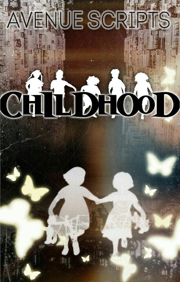 Book Cover Childhood by RashidaShani