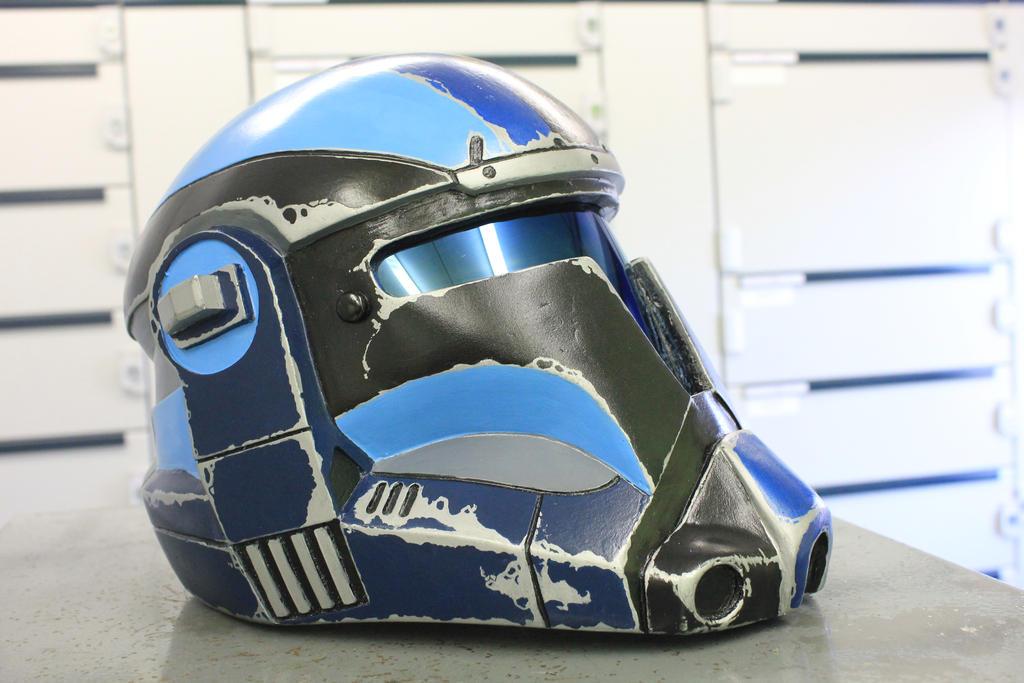 Riven Kassle - Merc Helm 2 by RivenKassle