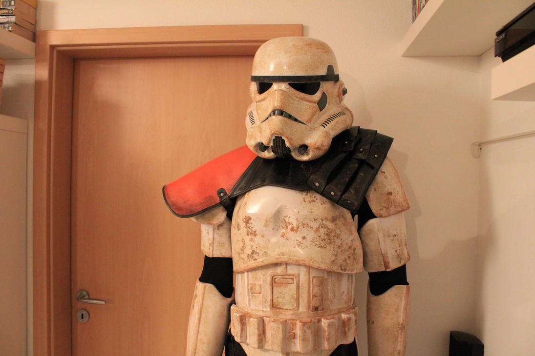 Star Wars Sandtrooper Armor Complete by RivenKassle