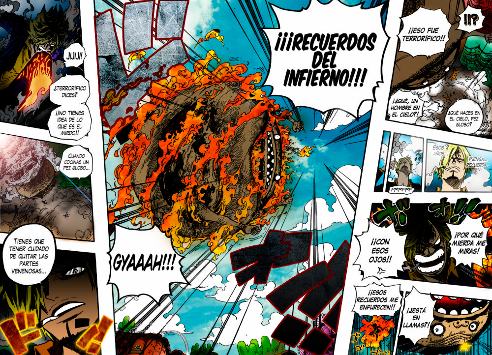 One Piece 646 P 11 Sanji Hell Memories Final Move By Leosanze On Deviantart
