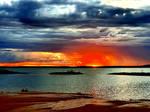 A Dissolving Sunset