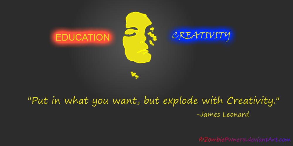Explode With Creativity by ZombiePwner5