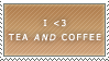 Tea AND Coffee Stamp