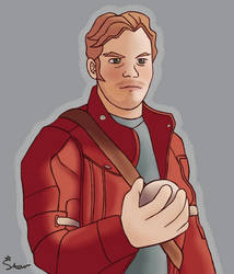 Art Trade - Star-Lord with Orb