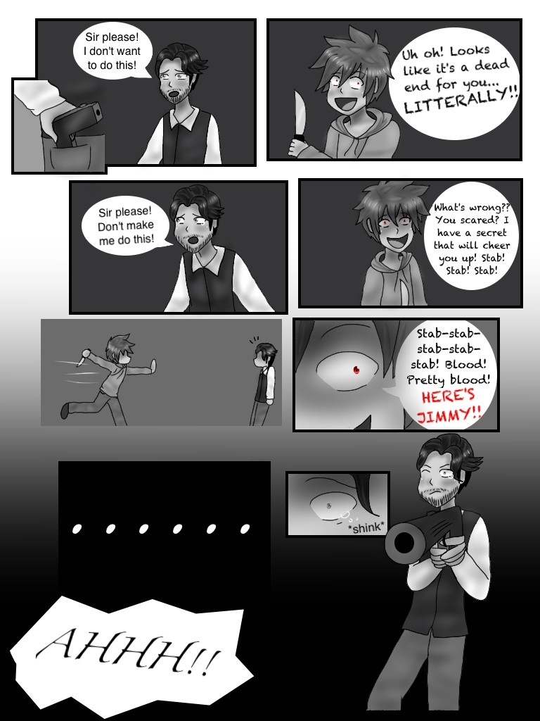 Haunted by CardboardFriend: After the Crash- pg 23 by CreativeAnonymous ...