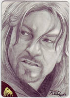 LOTR Boromir by britbrakdown