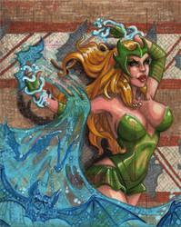 Enchantress for The Bat by britbrakdown