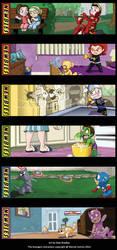Newbies:The Avengers by britbrakdown