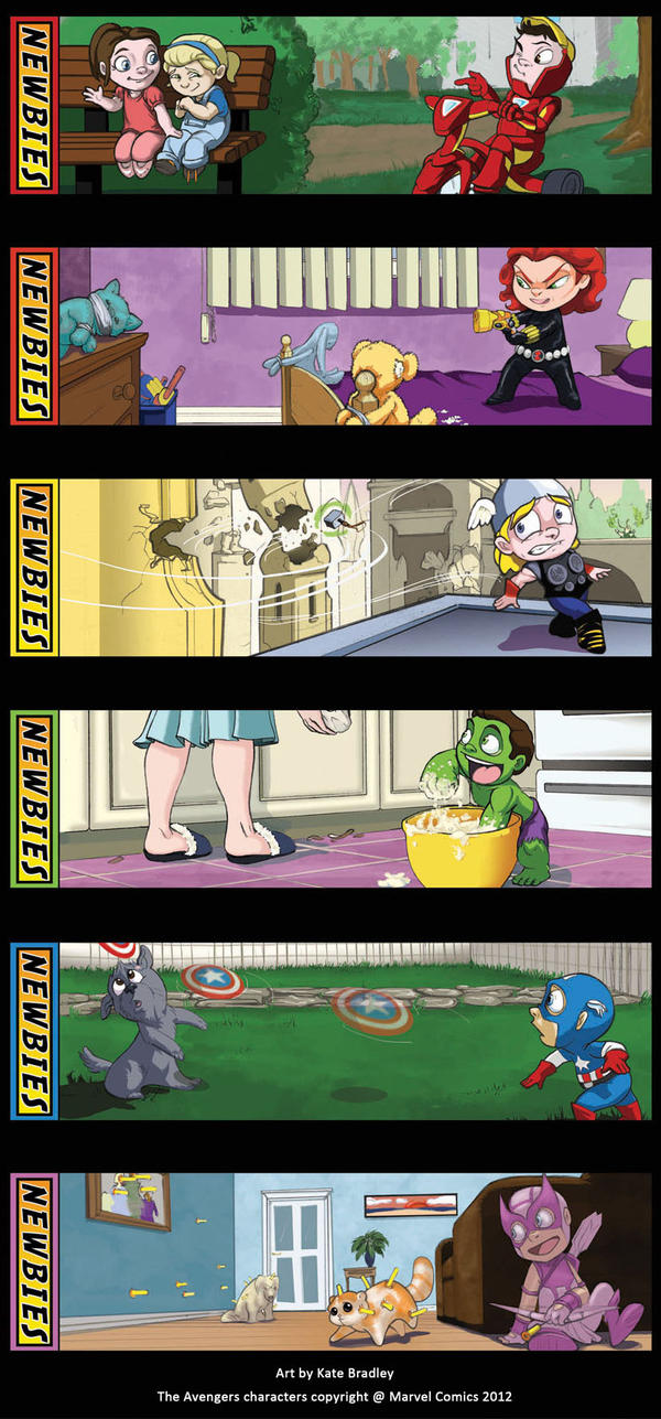 Newbies:The Avengers