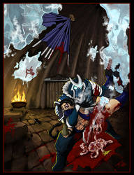 Mortal Kombat Fatality by britbrakdown