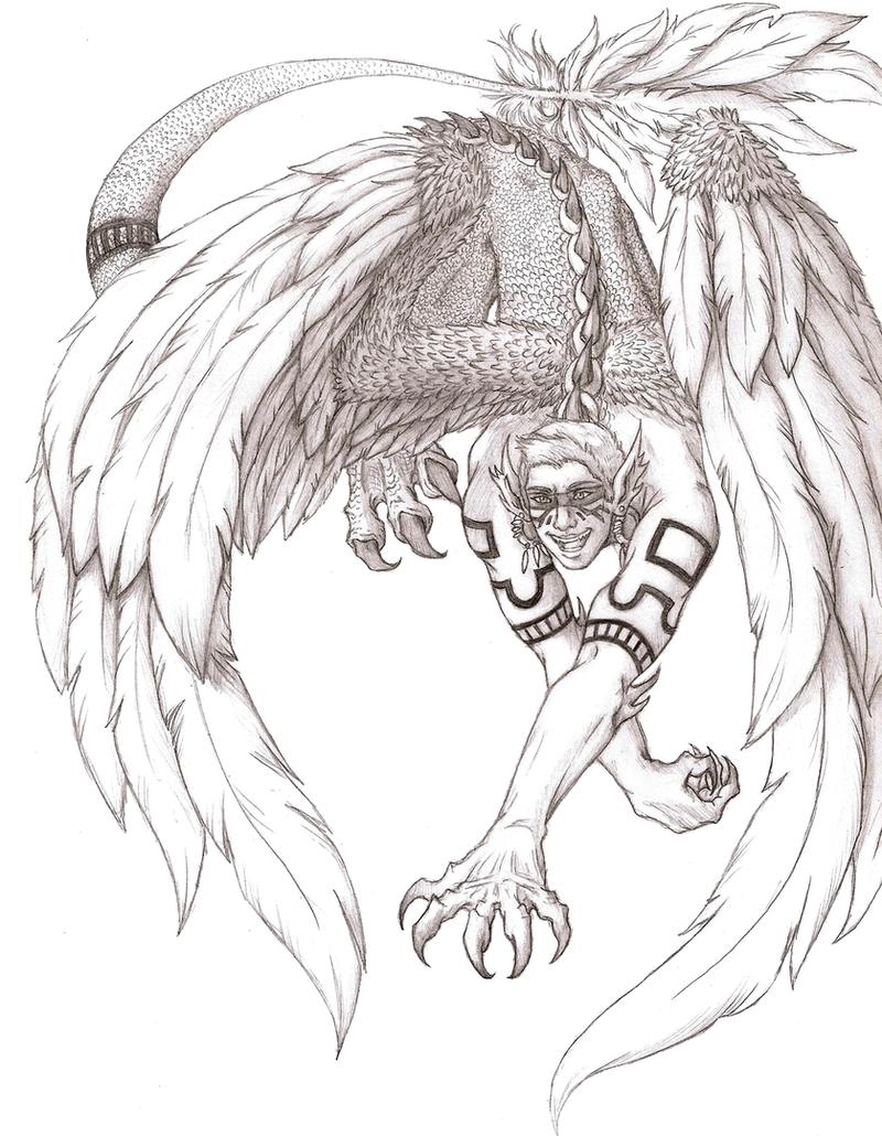Quetzalcoatl by Defying-Destiny on DeviantArt