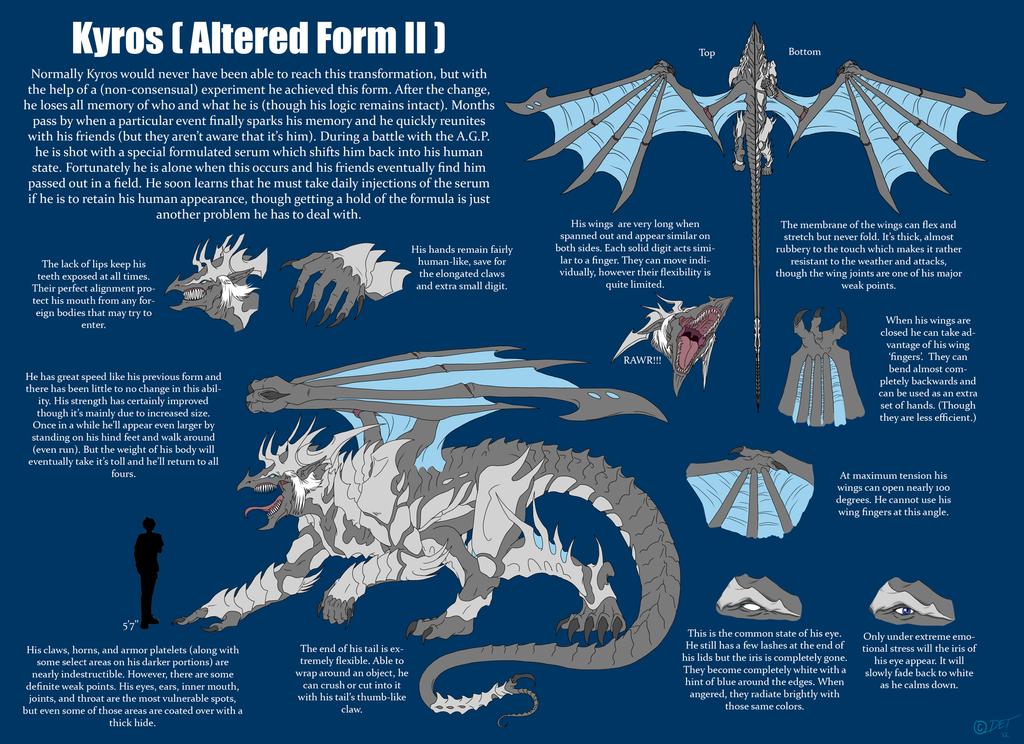 Kyros Beasty Ref. Sheet by Defying-Destiny