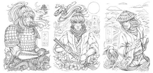 -:Samurai Bros:-