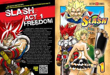 SLASH Vol. 1 COVER SUMMER KOMIKON by WadeVezecha