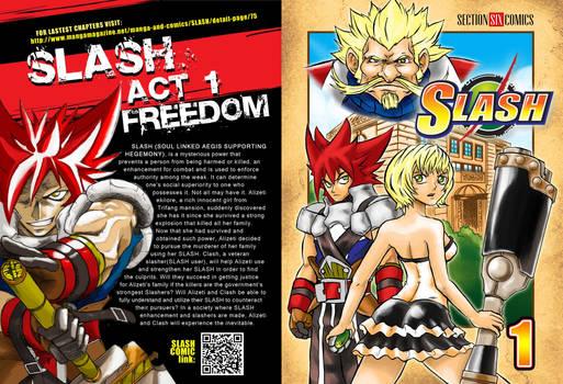 SLASH Vol. 1 COVER SUMMER KOMIKON