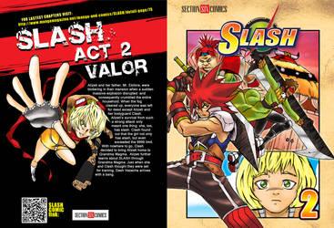 SLASH vol 2 COVER for SUMMER KOMIKON by WadeVezecha