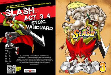 SLASH vol 3 COVER for SUMMER KOMIKON by WadeVezecha