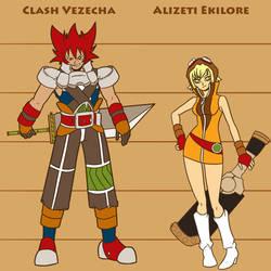 CLASH and ALIZETI by WadeVezecha