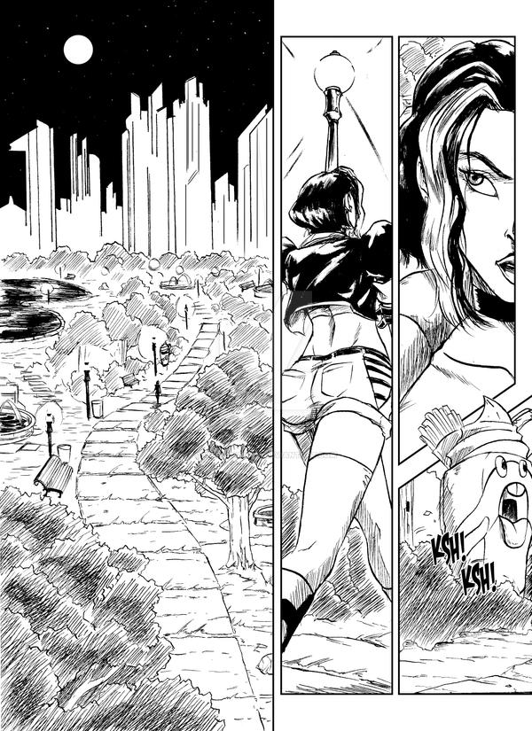 Hulk 2099 Page 31 by WadeVezecha