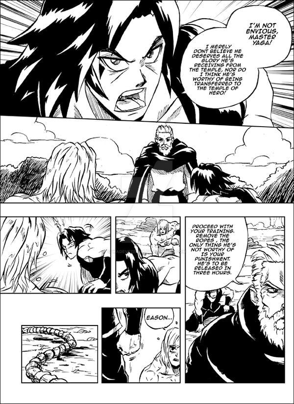 HERO FIGHTER Origins SCENE 7 PAGE 21 by WadeVezecha