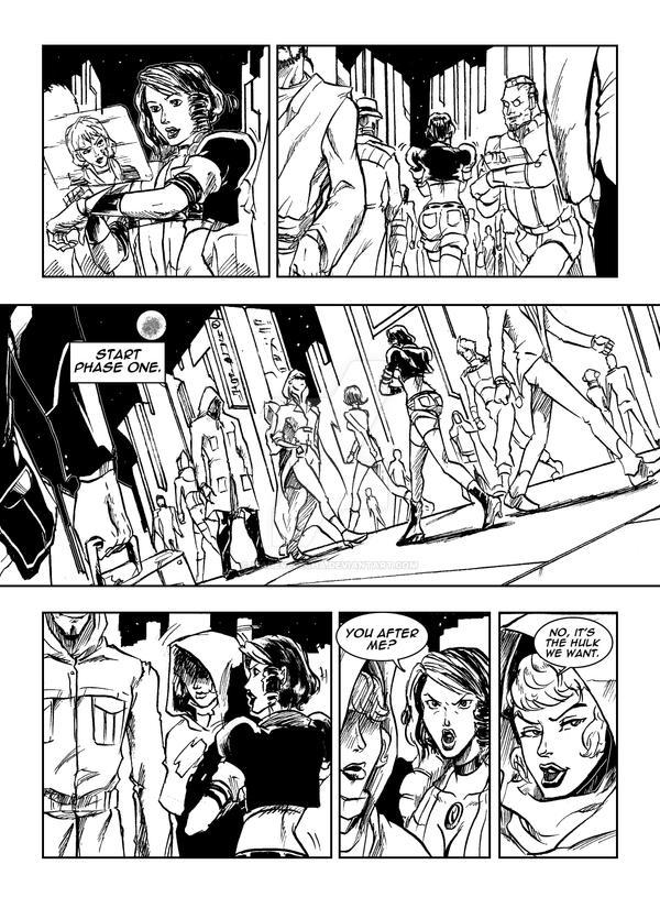 Hulk 2099 Page 46 by WadeVezecha