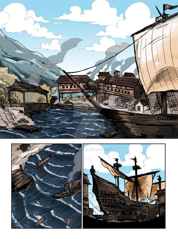 PIRATES vs MING WARRIORS  page 1 by WadeVezecha