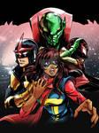 Nova Ms Marvel Spiderman  vs Annihilus