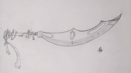 Koa in weapon form by KiburakMangakka-san