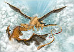 Dragons by HRLSS-GeckoTea