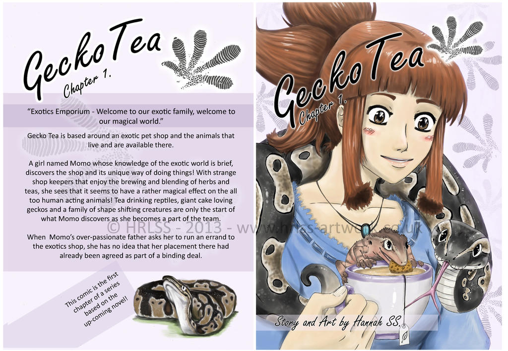 Comic: Gecko Tea - Chapter 1. COVER ART