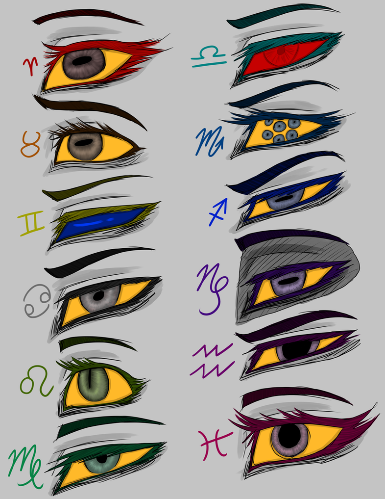 Troll Kids Eyes Headcanons COLORED by RhodArt on DeviantArt | 786 x 1017 jpeg 147kB