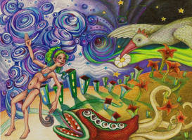 The Tripping Fairy by AmyKollarAnderson