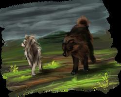Scavenger Hunt - Em and Kushala by majfisch